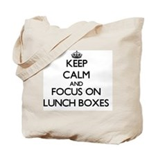 Cute Lunchboxes Tote Bag