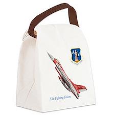 Cute Air force falcons mens Canvas Lunch Bag
