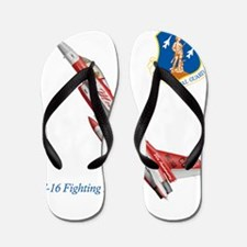 Funny Air force falcons mens Flip Flops