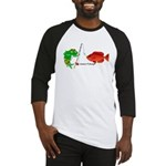 Combat-Fishing(R) Fish vs Fish Baseball Jersey