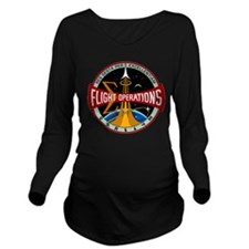 Flight Operations Lo Long Sleeve Maternity T-Shirt