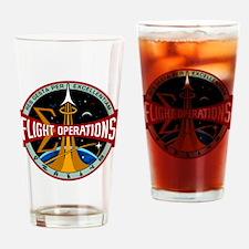 Flight Operations Logo Drinking Glass