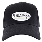 Rvillage Logo Baseball Hat Black Cap