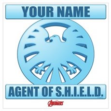 Avengers Assemble Agent of SHIELD Persona Wall Art Poster