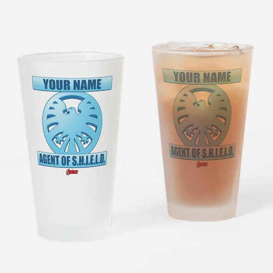 Avengers Assemble Agent of SHIELD P Drinking Glass