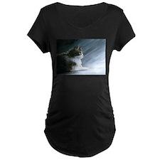 Cat 594 Maternity T-Shirt