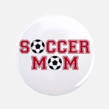 "Soccer mom 3.5"" Button"