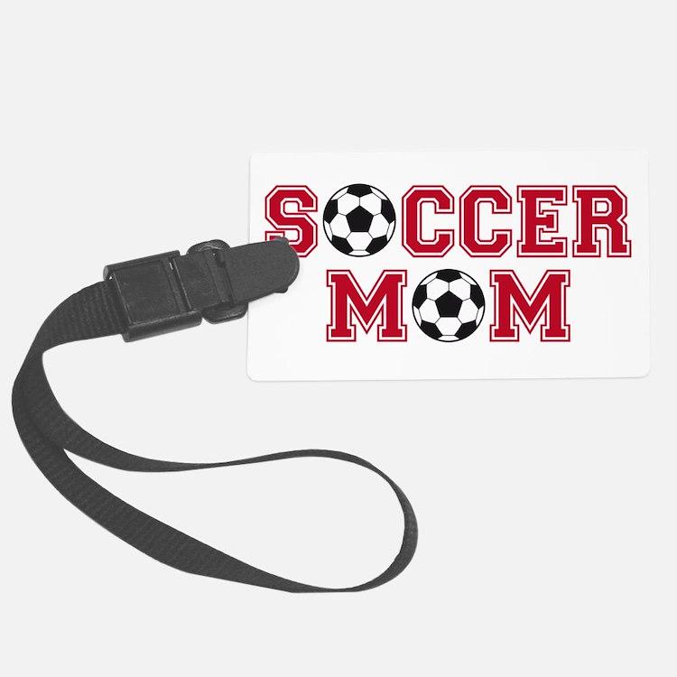 Soccer mom Luggage Tag