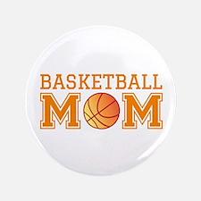 "Basketball mom 3.5"" Button"