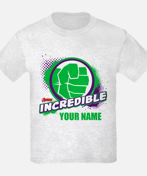 Avengers Assemble Incredible Hu T-Shirt