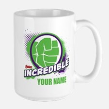 Avengers Assemble Incredible Hulk Perso Large Mug