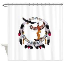EAGLE DANCER Shower Curtain