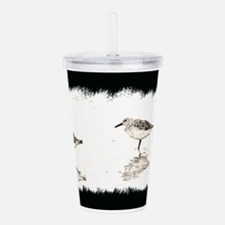 Unique Shore birds Acrylic Double-wall Tumbler