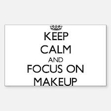 Keep Calm and focus on Makeup Decal