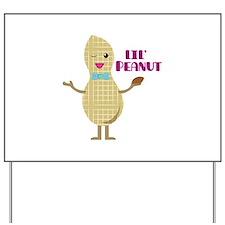 Lil Peanut Yard Sign