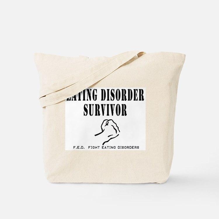 Eating Disorder Survivor Tote Bag