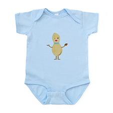 Mr. Peanut Body Suit