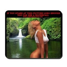 Waterfall - Mouse Pad - Campus Mischief
