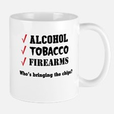 Alcohol Tobacco Firearms Who's Bringing The Chips?