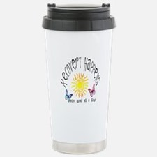 Recovery Happens Stainless Steel Travel Mug