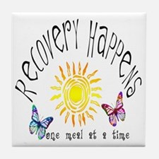Recovery Happens Tile Coaster