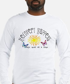Recovery Happens Long Sleeve T-Shirt