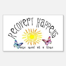 Recovery Happens Rectangle Decal