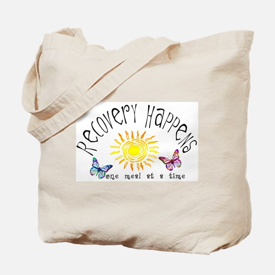 Recovery Happens Tote Bag
