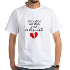 Starvation Stops Your Heart Shirt