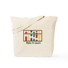 Make It Count Tote Bag
