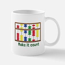 Make It Count Mugs