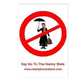 Nanny Knows Best Postcards (Package of 8)
