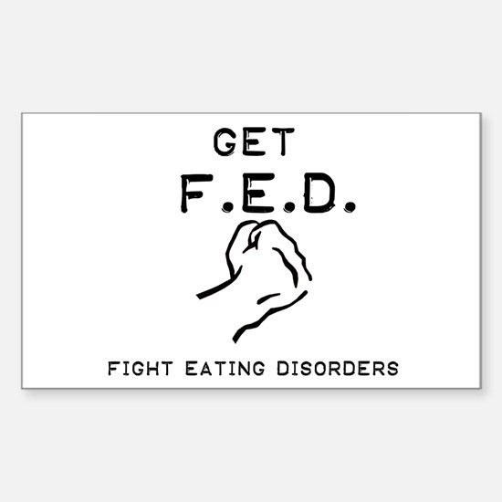 Get F.E.D. Rectangle Decal