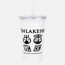 Inlakesh Acrylic Double-wall Tumbler
