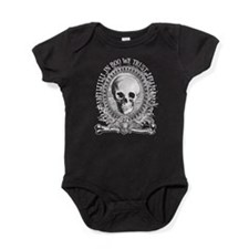 Halloween Spooky Money Baby Bodysuit