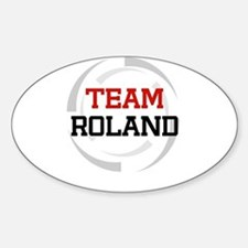Roland Oval Decal