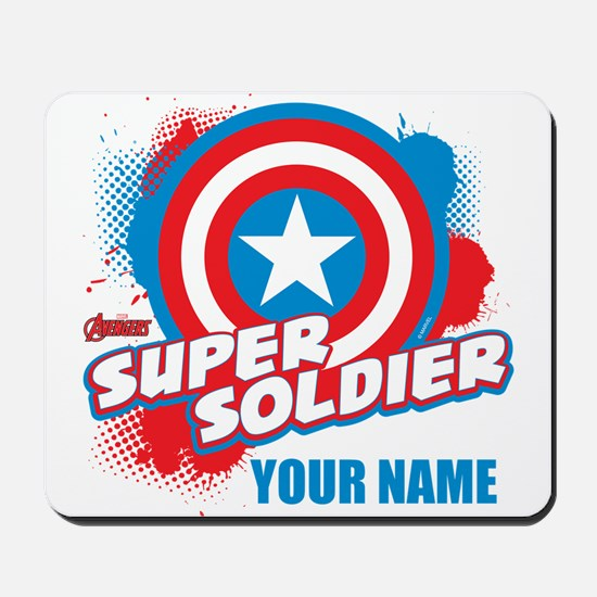 9496631_Avengers Assemble Super Soldier Mousepad