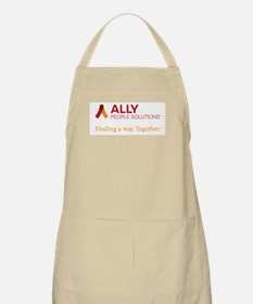 Ally People Solutions With Tagline Apron