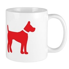 dog red 2 Mugs