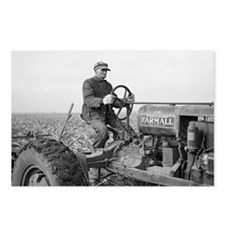 Cute International tractor Postcards (Package of 8)