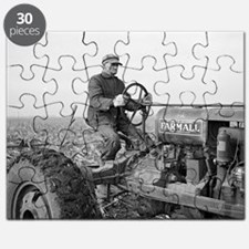Funny International tractor Puzzle