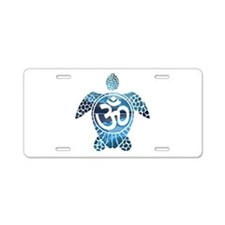 Ohm Turtle Aluminum License Plate