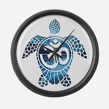 Ohm Turtle Large Wall Clock