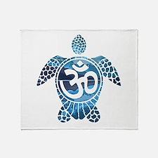 Ohm Turtle Throw Blanket