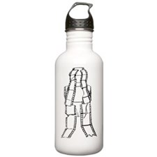 Film Cell Man Devastat Water Bottle