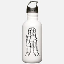 Film Cell Man Devastat Water Bottle