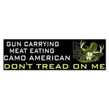 Don't Tread (bumper) Bumper Bumper Sticker