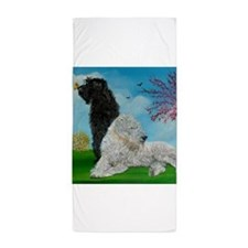 doodlespringSquare.JPG Beach Towel
