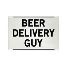 Beer Delivery Guy Magnets