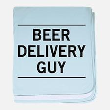 Beer Delivery Guy baby blanket